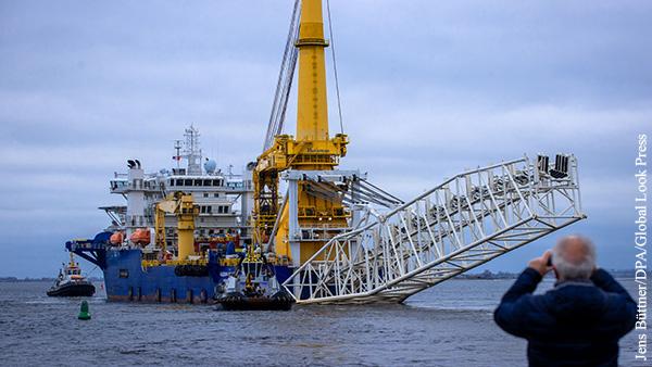 ФРГ пообещала США усилить поддержку Украины в обмен на завершение Северного потока  2