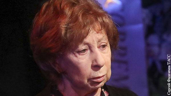 Ахеджакова предложила поставить на Лубянке памятник педофилу