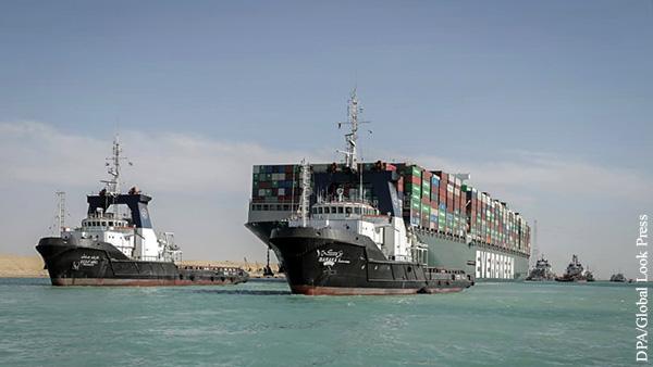 Мнения: Я/Мы  застрявший контейнеровоз