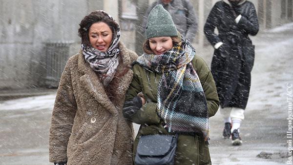 Москве пообещали возвращение снега и заморозков