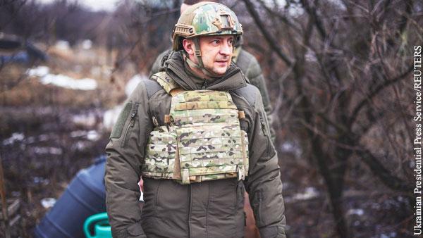 Названа дата поездки Зеленского в Донбасс