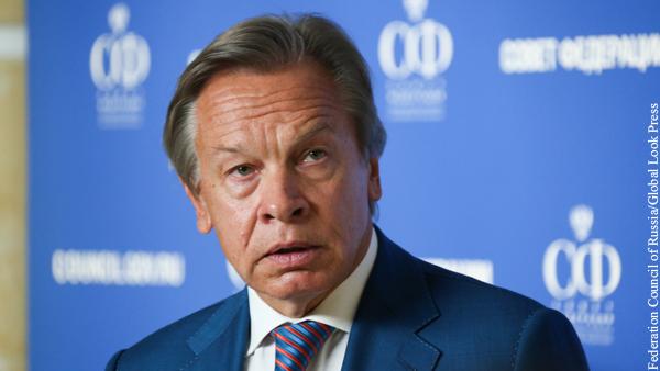Пушков указал на грубую ошибку Зеленского касательно НАТО