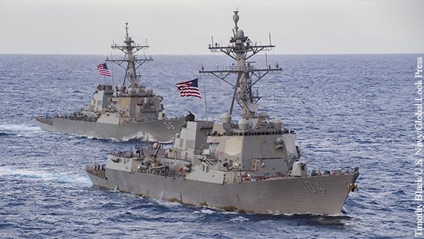 В Госдуме назвали последствия появления военных кораблей США в Черном море