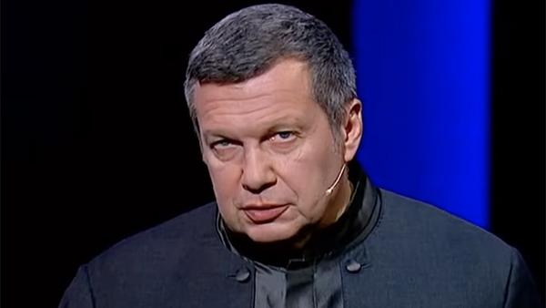 Соловьев резко раскритиковал главу Госдепа за оправдание оскорблений Байдена в адрес Путина