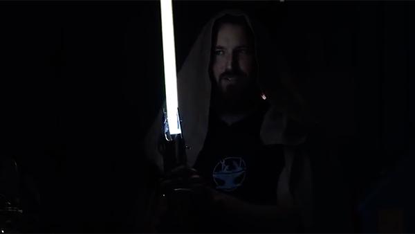 Disney представил настоящий световой меч