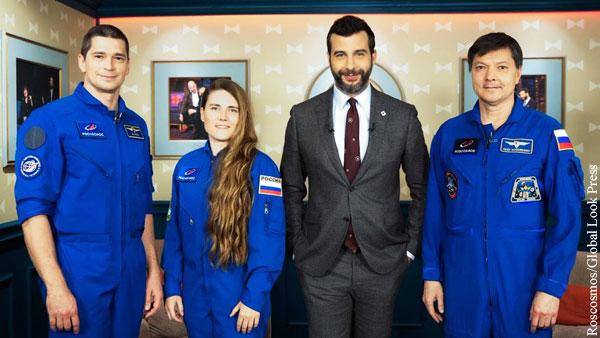 Ургант пофантазировал на тему сверхспособностей космонавтов
