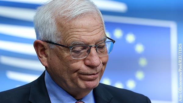 Дипслужба ЕС изменила слова Борреля о численности войск России близ Украины