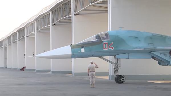 Так выглядят укрытия для российских бомбардировщиков в Сирии