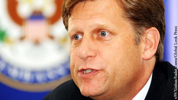 Бывший посол США отказался подтвердить финансирование Навального