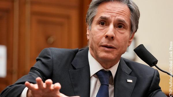 Госсекретарь США назвал главные угрозы для Украины