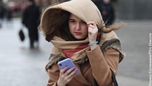 В Москве продлили желтый уровень погодной опасности из-за ветра