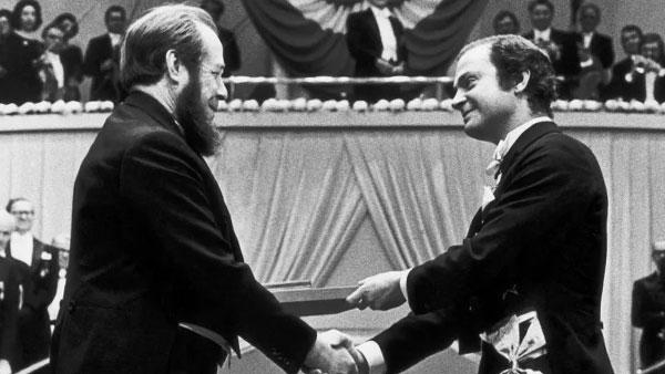 Рассекречены архивы о присуждении Нобелевской премии Солженицыну