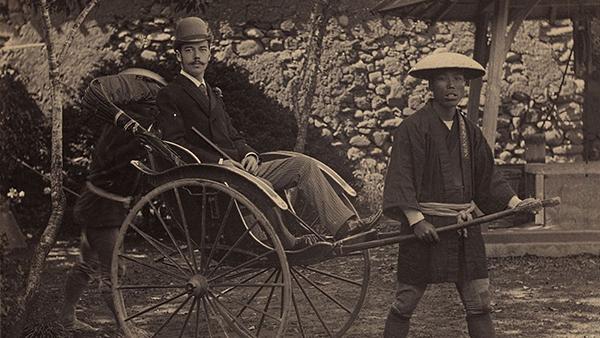 Будущий император Николай II в Нагасаки