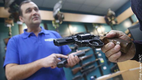 В Общественной палате призвали повысить возрастной порог для владения оружием