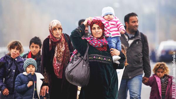 В ФРГ предупредили о растущем числе направляющихся через Балканы мигрантов