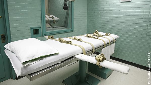Вернуть смертную казнь