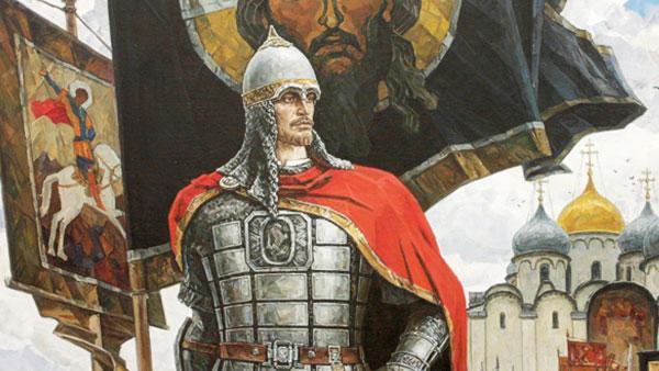Таким принято изображать Александра Невского сегодня