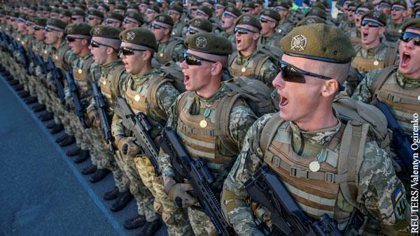 Зеленский увеличил военные расходы Украины
