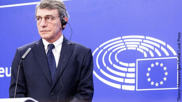 Председатель Европарламента призвал ужесточить санкции против России