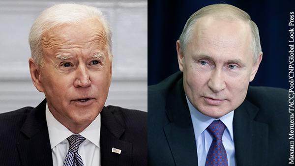 Политика: Шесть главных разногласий России и США перед встречей Путина и Байдена