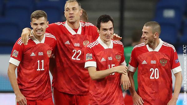 Назван состав сборной России на Евро-2020