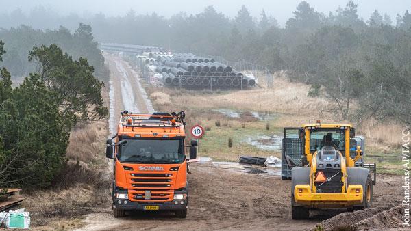 Дания отозвала разрешение на прокладку газопровода-конкурента Северного потока  2