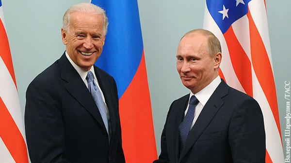 Путин назвал главную цель встречи с Байденом