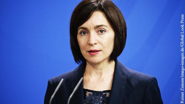 В ЦИК Молдавии пожаловались на давление со стороны Санду