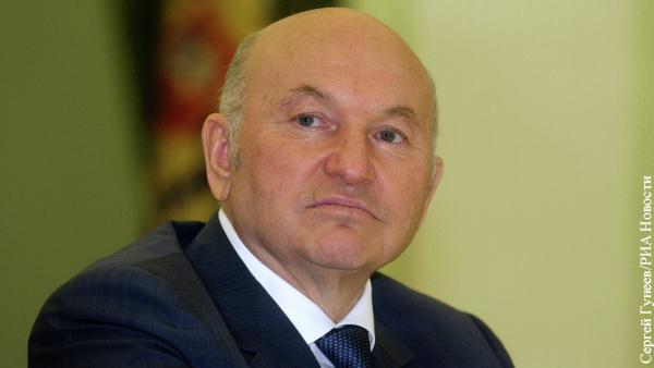 Власти Москвы отказались присвоить одной из улиц имя Лужкова