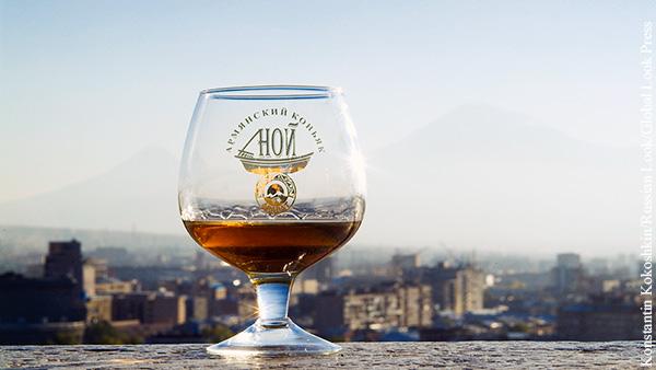 Армения лишается права называть свой алкоголь коньяком