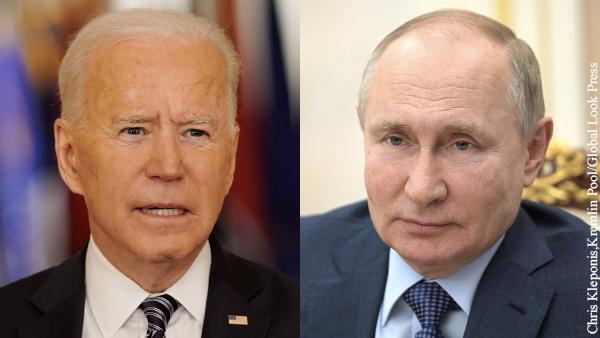 Американцы предсказали неутешительный для Байдена итог саммита с Путиным