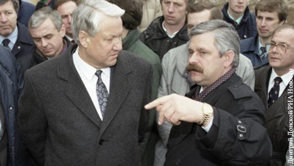 Руцкой: В августе 1991 года Ельцин пытался бежать в американское посольство