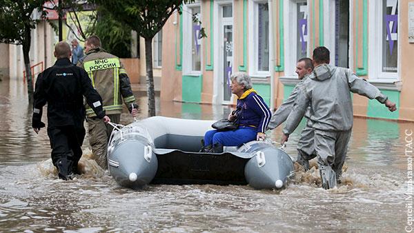Ливни в Крыму облегчили решение вопроса с водоснабжением