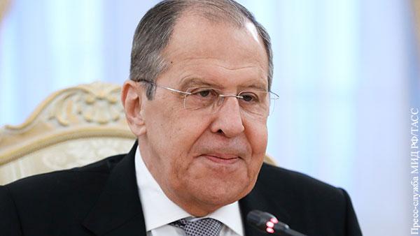 Лавров: В отношениях России и США не будет игры в одни ворота