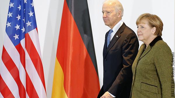 Байден и Меркель будут восстанавливать отношения США и Германии
