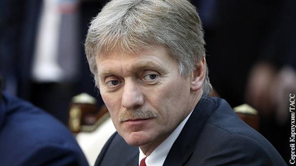В Кремле ответили на вопрос о введении локдауна