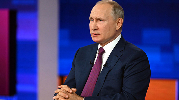 Путин рассказал об ответе России на санкции Запада