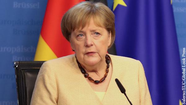 Меркель отказалась давить на Россию по Северному потоку  2
