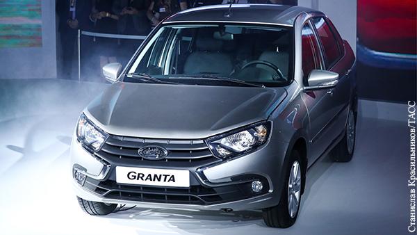 АвтоВАЗ приостановил выпуск Lada Granta и Niva