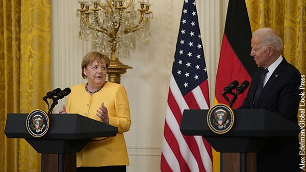 Эксперт оценил итоги прощального визита Меркель в Вашингтон