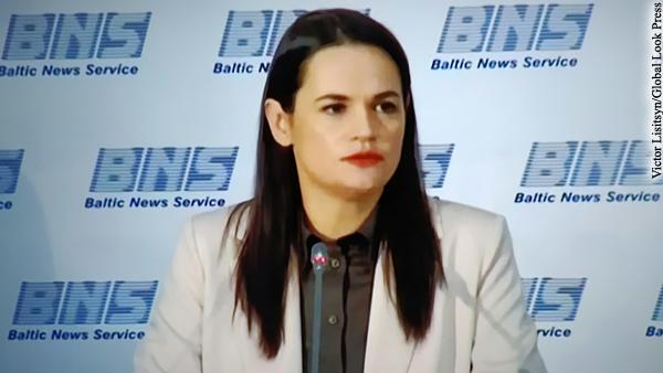 Тихановская решила встретиться с Байденом и Блинкеном