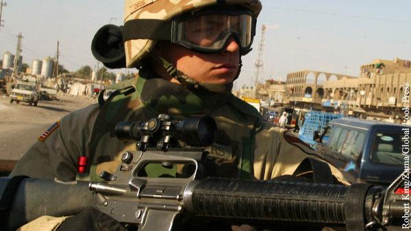 Ирак подтвердил желание избавиться от войск США