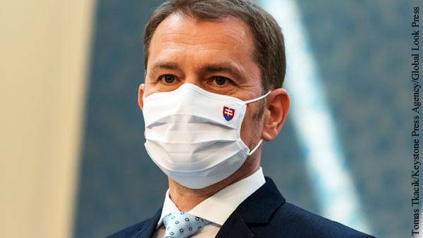 Вице-премьер Словакии сделал прививку Спутником V