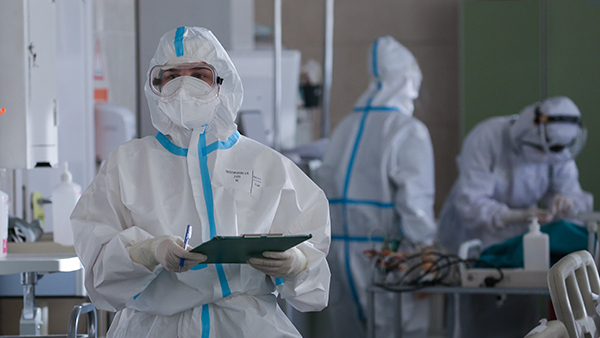За сутки в России выявили 23,3 тыс. случаев коронавируса