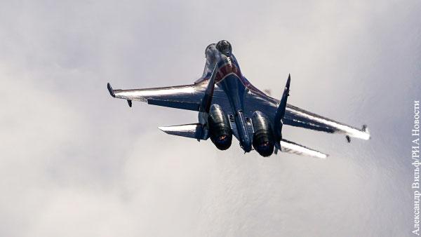 Самолет Су-35С упал в Хабаровском крае
