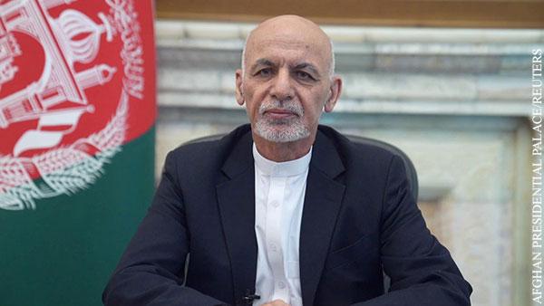 Президент Афганистана ушел в отставку