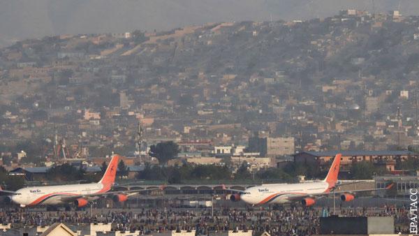 Аэропорт Кабула возобновил прием и отправку рейсов
