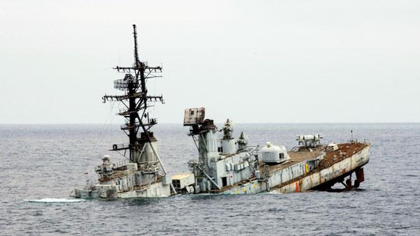 Вопрос дня: Зачем американцы топят собственные корабли