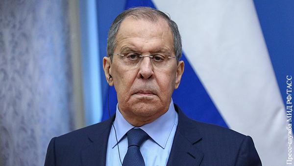 Лавров указал на ненадежность Запада в качестве партнера