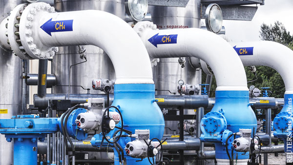 Цена на газ в Европе достигла 610 долларов за 1 тыс. кубометров